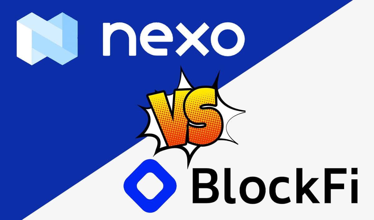 海外の仮想通貨レンディング Nexo v.s. BlockFi 比較【どちらも使うべし】